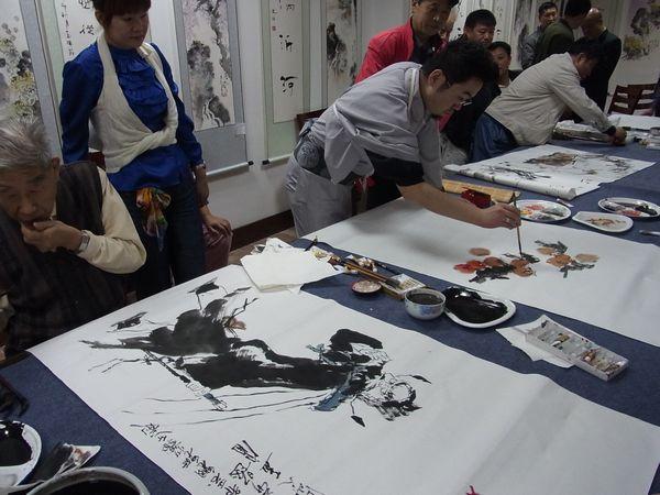 2011 China 揮毫会 嵐酔先生