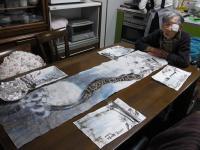 2011 Xmas テーブルウェア 水墨画