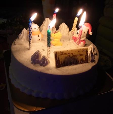 2011 Snoopy Xmas cake