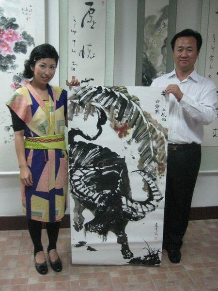 2011 China 揮毫会 水牛