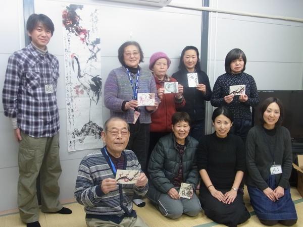 201201_東北ボランティア 水墨画講座04