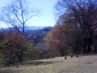 里山の冬景色