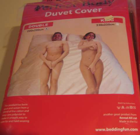 Perfect Body Duvet Cover