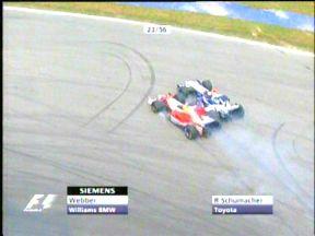Webber vs R.Schumacher