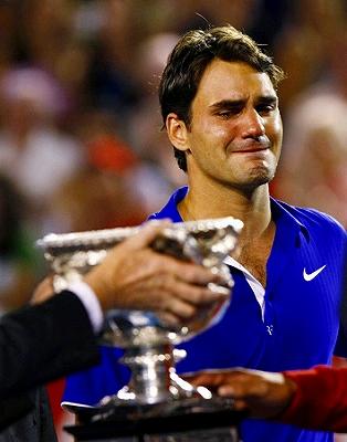 2009全豪 フェデラーの涙