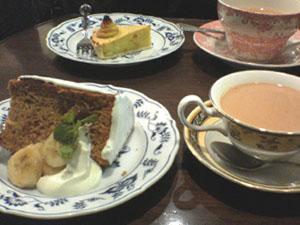 MARYLEBONEの紅茶とケーキv