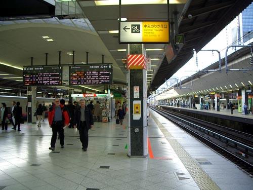 東京駅22番線