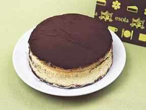 esola  黒いチーズケーキ★
