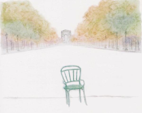 「コンコルド広場の椅子」(新潮社)より(1)