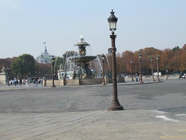 現在のコンコルド広場