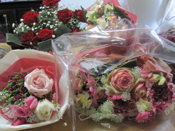 たくさんの花束(1)