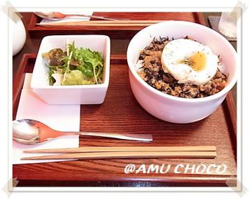 AMU CHOCO にて①