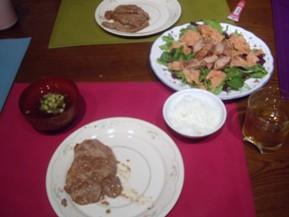dinner 080109