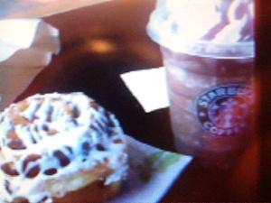 starbucks free pastry