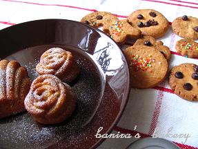マドレーヌとクッキー