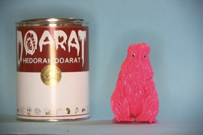 ヘドラ缶ピンク