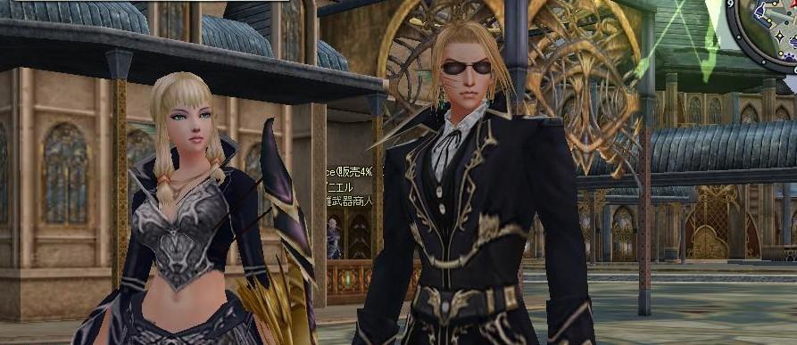 スーツ2ショットw