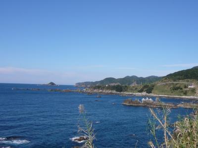 熊野枯木灘海岸県立公園(日本童謡公園から臨む)