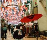 上川端商店街せいもん払い風景