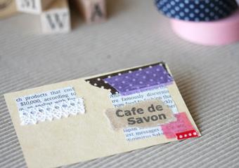 Cafe de Savon