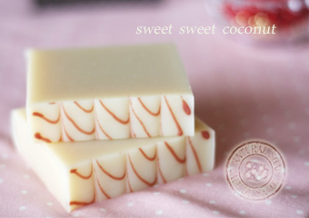 sweet sweet coconut soap