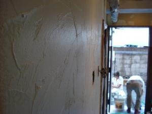 トイレ前壁