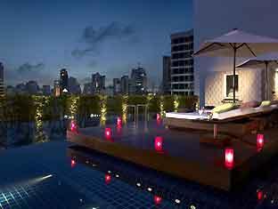 グランドミレニアムスクンビットホテル バンコク プール
