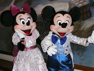Mickey&Minnie①