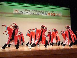 ヨサコイ踊り