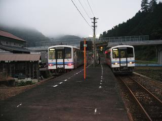 口羽駅(2)