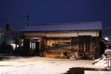 肥前長野駅・雪(2)