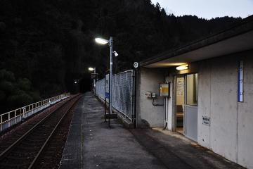 宇都井駅夕景(2)