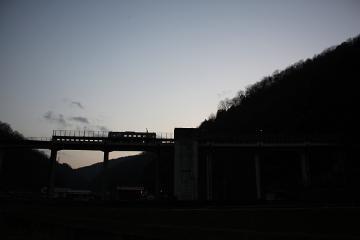 宇都井駅夕景(3)