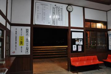千綿駅の夜(3)