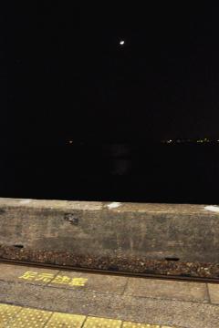千綿駅の夜(10)