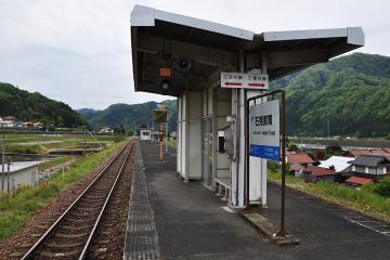 石見都賀駅(12)