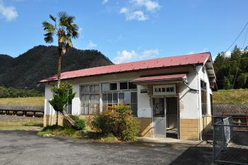 石見簗瀬駅(2)