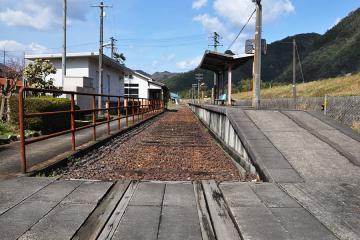 石見簗瀬駅(10)