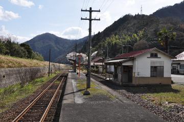 石見簗瀬駅(14)
