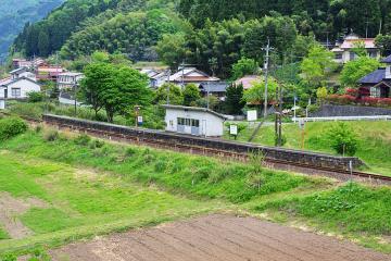 鹿賀駅(3)
