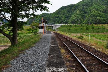 鹿賀駅(5)