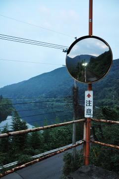 黄昏の長谷駅(4)