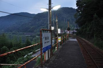 黄昏の長谷駅(5)