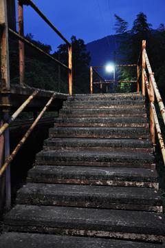 黄昏の長谷駅(8)
