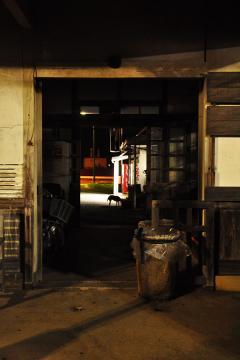 肥前長野駅の夜(4)
