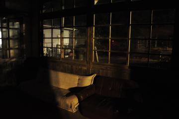 肥前長野駅の夜(6)