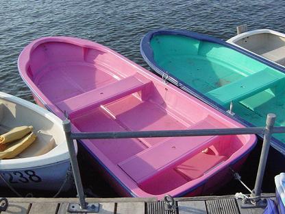 ピンク手漕ぎ