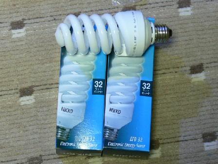蛍光灯 32W ブルー