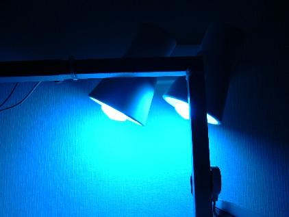 32Wスパイラル蛍光灯 ブルー