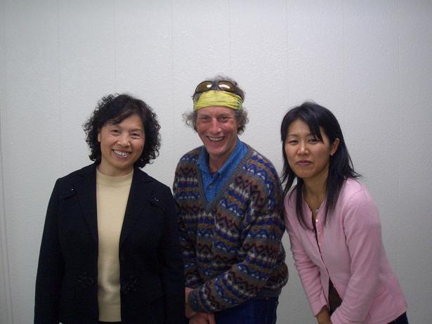 中国人、アメリカ人、日本人